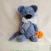Куклы и игрушки ручной работы. Ярмарка Мастеров - ручная работа Кот-пушистик. Handmade.