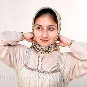 Одежда ручной работы. Ярмарка Мастеров - ручная работа Льняной сарафан - двойка, с длинной штапельной рубахой. Handmade.