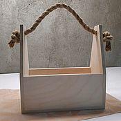 Ящики ручной работы. Ярмарка Мастеров - ручная работа Ящик из фанеры. Handmade.