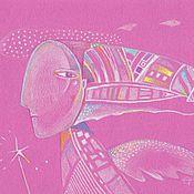 Картины и панно ручной работы. Ярмарка Мастеров - ручная работа Angel. Handmade.