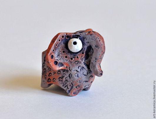 Миниатюрные модели ручной работы. Ярмарка Мастеров - ручная работа. Купить Слон керамический Джимми. Фигурка слона, слон сувенир. Handmade.