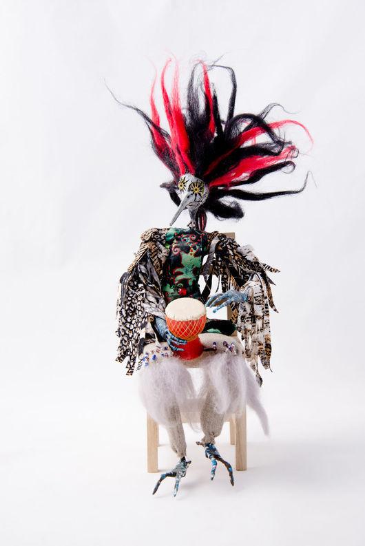 Куклы и игрушки ручной работы. Ярмарка Мастеров - ручная работа. Купить Авторская  Шарнирная кукла (Ведьма Птица). Handmade. Кукла
