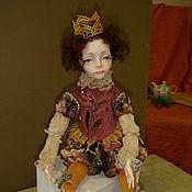 """Куклы и игрушки ручной работы. Ярмарка Мастеров - ручная работа Авторская кукла """"НиколЯ"""". Handmade."""
