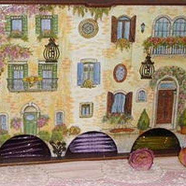 Для дома и интерьера ручной работы. Ярмарка Мастеров - ручная работа Чайный домик тройной Патио. Handmade.