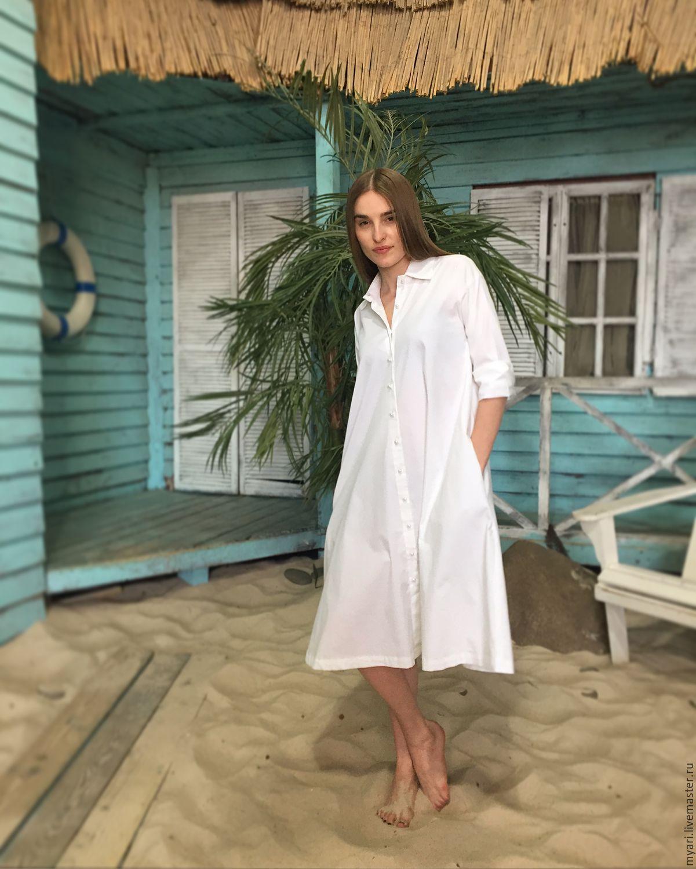 Платье-рубашка, Платья, Москва, Фото №1