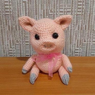 Куклы и игрушки ручной работы. Ярмарка Мастеров - ручная работа Игрушки: поросенок. Handmade.