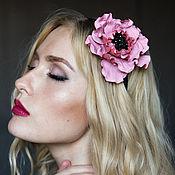 Украшения handmade. Livemaster - original item The hair ornament from the skin of the Pink pearl. Headband.. Handmade.