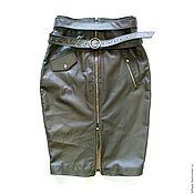 Одежда handmade. Livemaster - original item Pencil skirt with belt. Handmade.