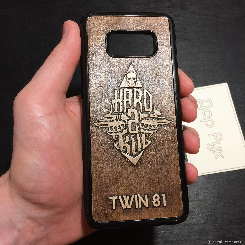 Wood carved case for Samsung Galaxy Dar Ruk Masters Club