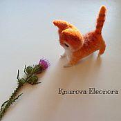Куклы и игрушки ручной работы. Ярмарка Мастеров - ручная работа Коты. Кошка Рыжуля. Handmade.