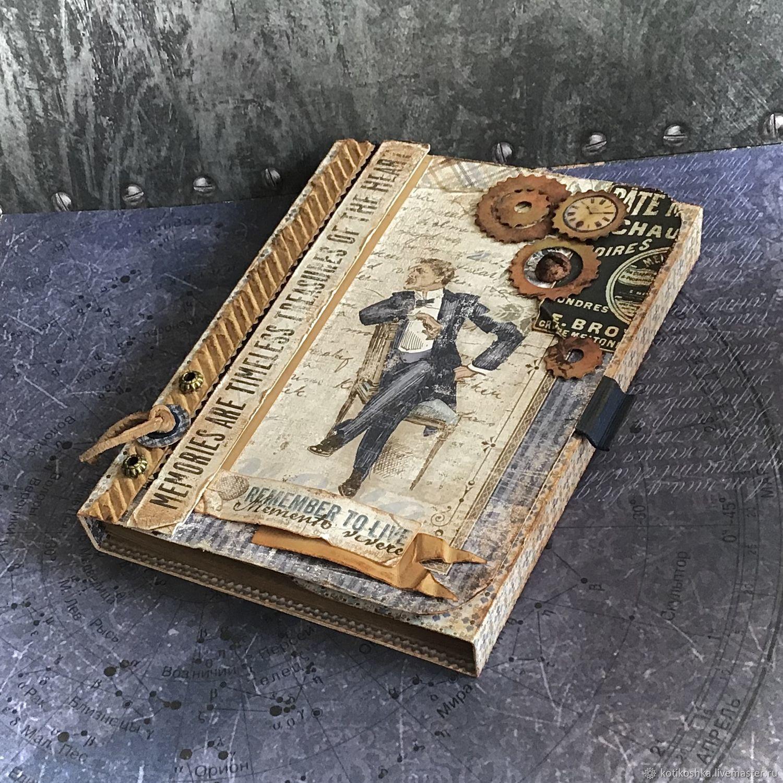 Мужской подарочный набор с открыткой Воспоминания сердца!, Открытки, Москва,  Фото №1