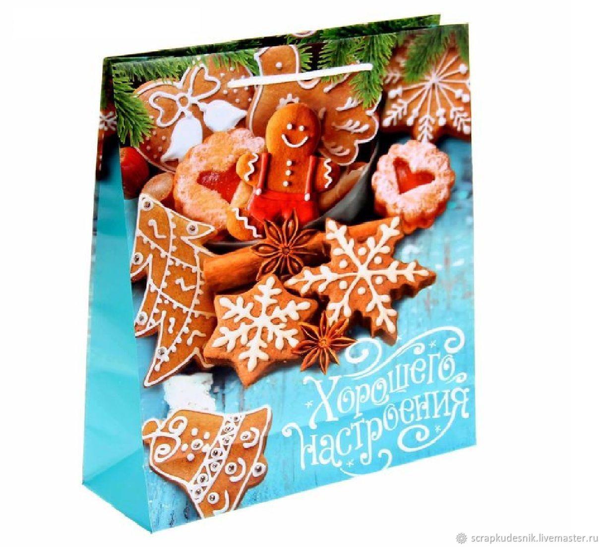 Как упаковать булочки в подарок