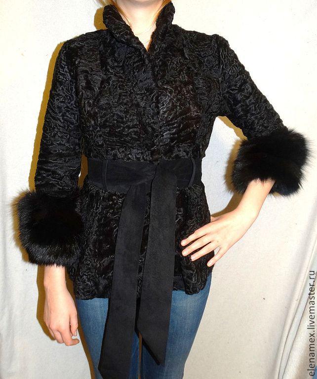 Жакет из каракуля, Верхняя одежда, Москва, Фото №1