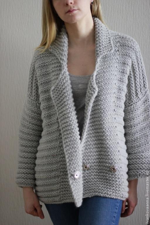 Купить Схема вязания жакета.