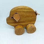 Куклы и игрушки handmade. Livemaster - original item Natalochka wood Hog. Handmade.