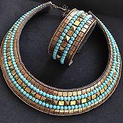Украшения handmade. Livemaster - original item Jewelry Set: « Cleo». Handmade.
