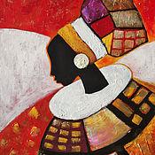 Картины и панно handmade. Livemaster - original item Pictures: Interior painting Afrika