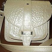 Сумки и аксессуары ручной работы. Ярмарка Мастеров - ручная работа кожаная сумочка маленькая  с14б. Handmade.