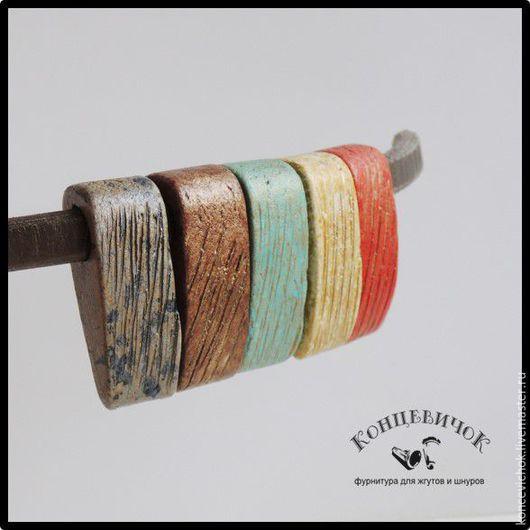 Для украшений ручной работы. Ярмарка Мастеров - ручная работа. Купить Керамика для колье регализ широкая Греция. Handmade. Комбинированный