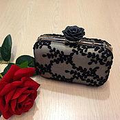 "Клатч ""Black Rose"""