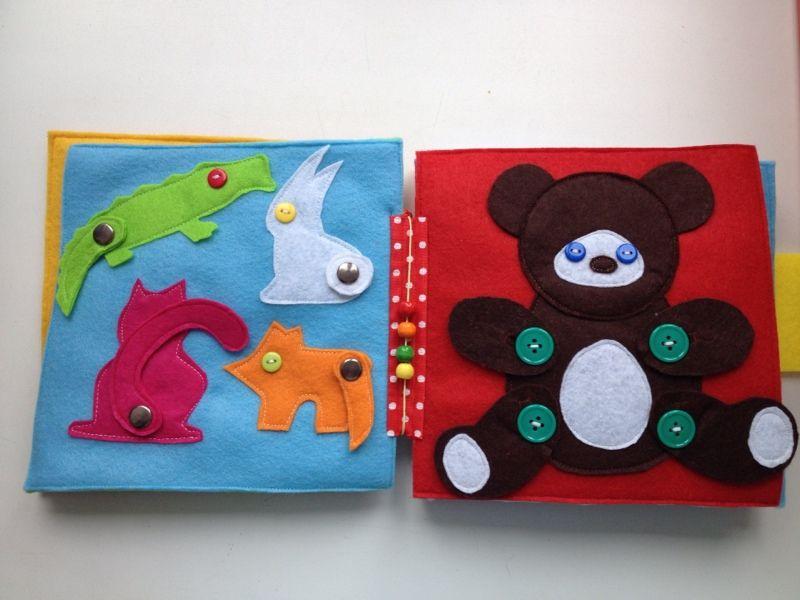 Развивающие игрушки на пуговичках на пуговичках