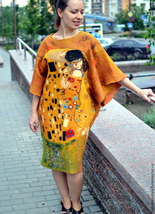 Женские платья. Ярмарка мастеров. NewVoilok. Женское платье, валяное платье, стильное платье.
