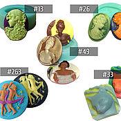 Инструменты для украшений ручной работы. Ярмарка Мастеров - ручная работа Молды камей на выбор (#13, 26, 33, 49, 263). Handmade.