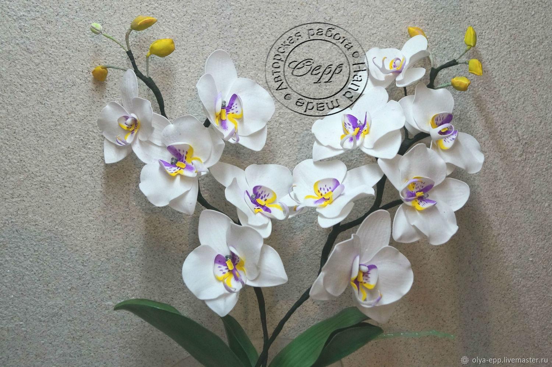 Освещение ручной работы. Ярмарка Мастеров - ручная работа. Купить Ночник орхидея. Handmade. Ночник, подарок женщине, дизайн интерьера