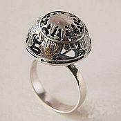 """Украшения ручной работы. Ярмарка Мастеров - ручная работа """"Полнолуние"""" - серебряное кольцо. Handmade."""