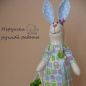 Куклы и игрушки ручной работы. Ярмарка Мастеров - ручная работа Яблочная Зая. Handmade.