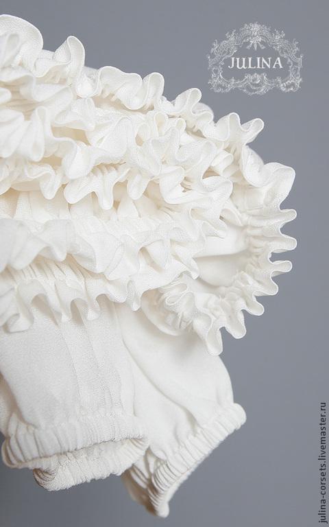 Шелковая белая блузка купить