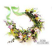 """Украшения handmade. Livemaster - original item Wreath for photo """"Boho"""". Handmade."""