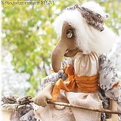 Куклы и игрушки ручной работы. Ярмарка Мастеров - ручная работа Баба Яга. Авторская текстильная кукла. Handmade.