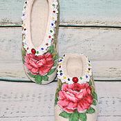 Обувь ручной работы. Ярмарка Мастеров - ручная работа Тапочки для Принцессы. Handmade.