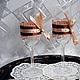 Свадебные аксессуары ручной работы. Заказать Оформление праздника в стиле Шоколад Для свадьбы Для стола. Скрап-Мельница. Семейные подарки (scrap-melnica). Ярмарка Мастеров.