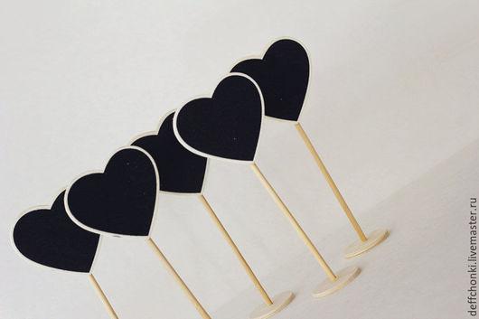 Таблички деревянные `Сердце`