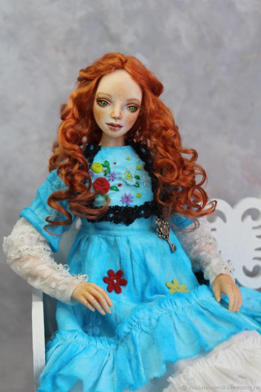 Фарфоровая  Ева,забронирована, Шарнирная кукла, Смоленск,  Фото №1