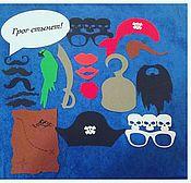 Сувениры и подарки ручной работы. Ярмарка Мастеров - ручная работа Фотобутафория Пиратская. Handmade.