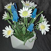 Цветы ручной работы. Ярмарка Мастеров - ручная работа Полевые цветы. Handmade.