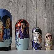 Русский стиль handmade. Livemaster - original item Dolls: Picasso circus Artists. Handmade.
