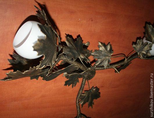 """Освещение ручной работы. Ярмарка Мастеров - ручная работа. Купить Люстра """" Клен"""" Chandelier Klen. Handmade. Светильник"""