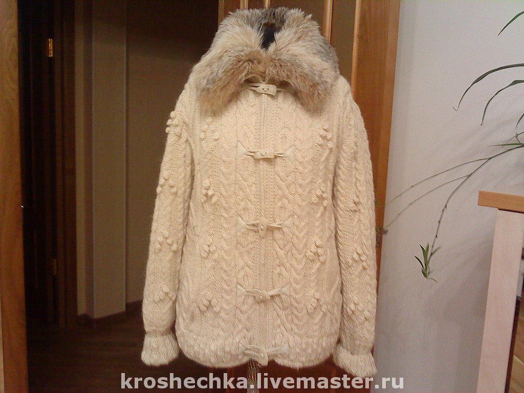 Woolen knitted jacket 'Spit', Outerwear Jackets, Ekaterinburg,  Фото №1