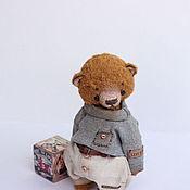 Куклы и игрушки ручной работы. Ярмарка Мастеров - ручная работа Мишаня  тедди мишка 21,5см. Handmade.
