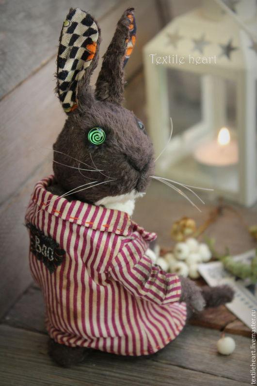 Мишки Тедди ручной работы. Ярмарка Мастеров - ручная работа. Купить Сливовый кролик. Handmade. Тёмно-фиолетовый, тедди кролик