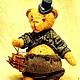 "Мишки Тедди ручной работы. Mr. Бредли (коллекция ""Твид- старая Англия""). Пур-Пур (pur-pur). Ярмарка Мастеров."