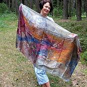 Аксессуары handmade. Livemaster - original item Silk stole