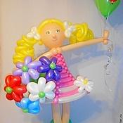 Подарки к праздникам ручной работы. Ярмарка Мастеров - ручная работа Девочка из воздушных шаров. Хит!. Handmade.