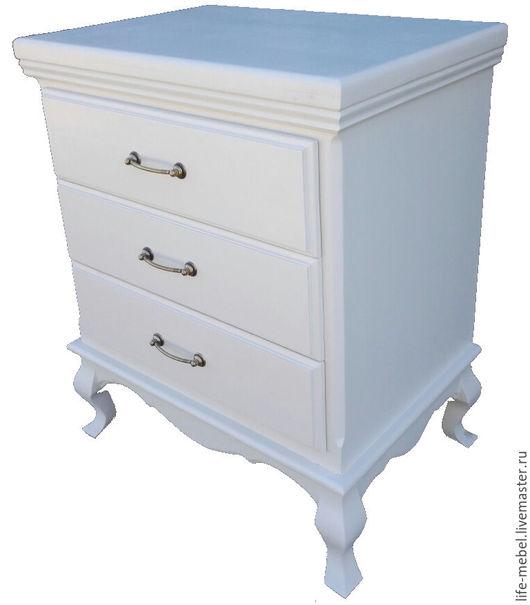 Мебель ручной работы. Ярмарка Мастеров - ручная работа. Купить Продам комод на 3 ящика выполненный в стиле Прованс. Handmade.