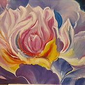 Картины ручной работы. Ярмарка Мастеров - ручная работа Сказочный цветок. Handmade.