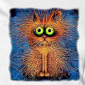 Одежда handmade. Livemaster - original item T shirt who are You?. Handmade.